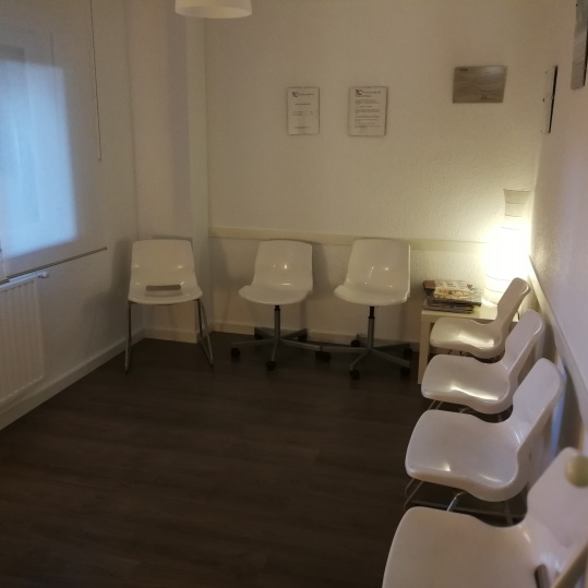 Sala de espera centro médico
